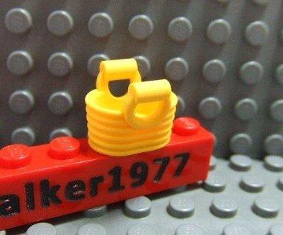 【積木1977-道具】Lego 樂高-全新- 亮淡橘色野餐籃/提籃 (Bright Light Orang)(U-06)