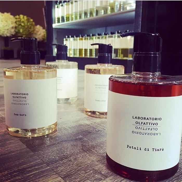 香氛 ◎義大利 Laboratorio Olfattivo 植萃 液態皂 沐浴乳 500ml 木質 花香 果香