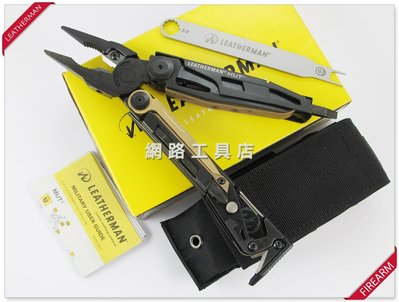 網路工具店『LEATHERMAN MUT 多功能工具鉗 黑色-射手版』(型號 850122) #2