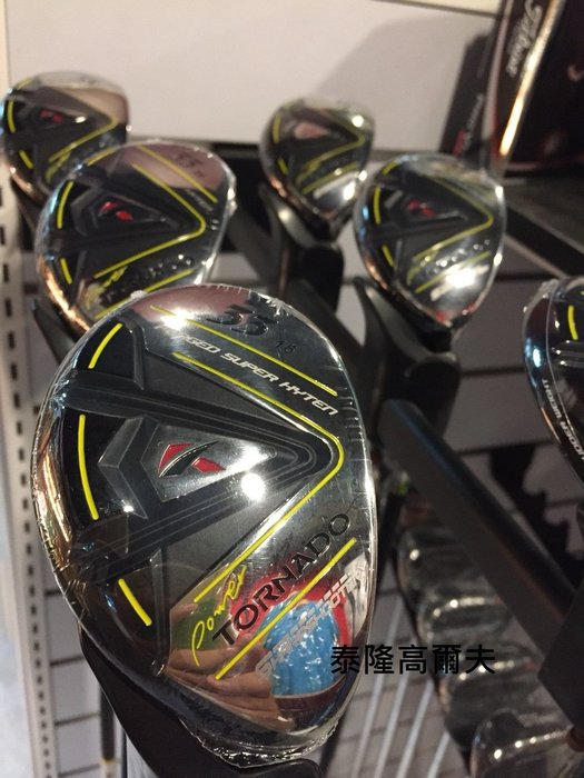 全新 kasco Golf POWER TORNATO 鍛造鐵木桿 小雞腿 混血木桿 16度 22度