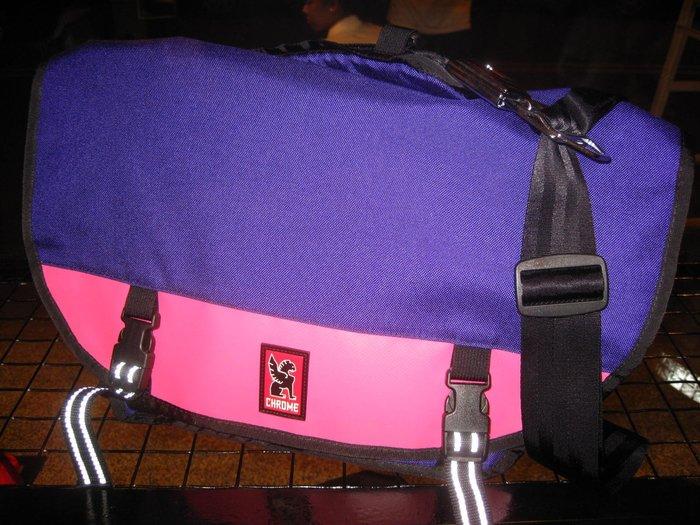 { POISON } CHROME MINI METRO 限定PURPLE/PINK 自行車手背包 Fixed Gear