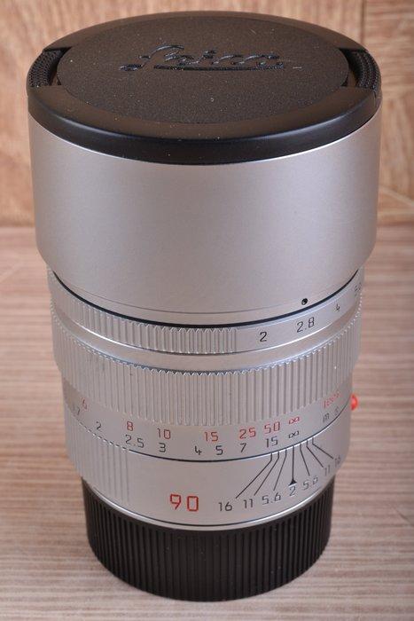 【品光數位】 Leica 徕卡Summicron-M 90mm F2 大頭九 pre-A 銀鏡 加製 FB#53445