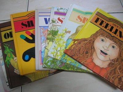 【兩手書坊UP】英文童書8本~BEGINNING TO LEARN~ABOUT(NUMBERS +TOUCHING...