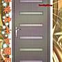 【鴻運】雅格紳士玄關門組.大門.玄關.庭院門...
