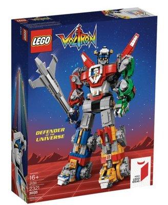 現貨 正版 樂高 LEGO 21311 細節超精緻 Voltron 百獸王 五獅合體 聖戰士積木組裝模型
