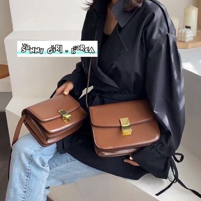 小方包*Sunny Girl*韓國氣質設計款純色單肩包斜背包 2020二月新款 - [WB0543]