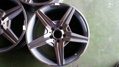 18吋BENZ鋁圈~新款五幅AMG.W202.W203.W208.W209.W210.W211.R171.GLA.GLC