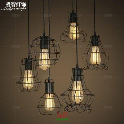 【美學】北歐單頭小吊燈現代簡約飯廳燈衣服店書房餐廳燈具MX_112