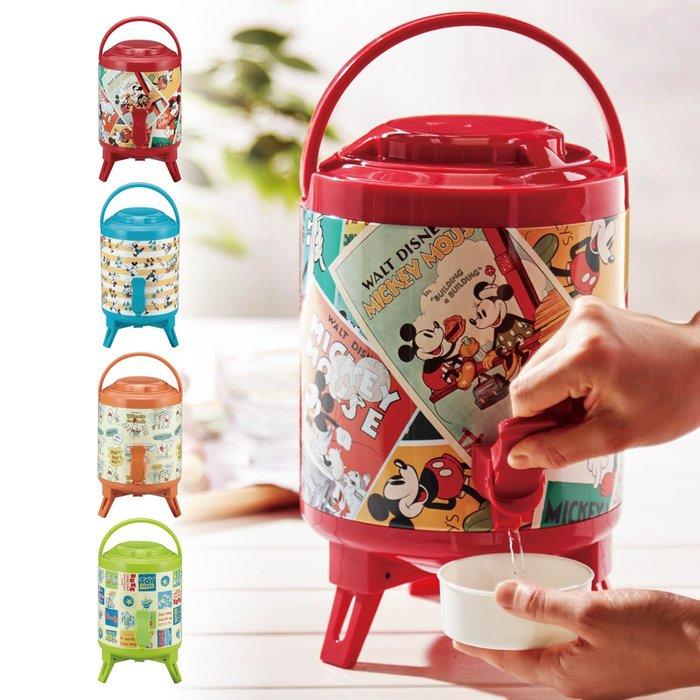 迪士尼Disney《預購》保冷保溫手提水桶 飲料桶3L~米奇米妮 維尼 玩具總動員~日本正品~共4款~心心小舖