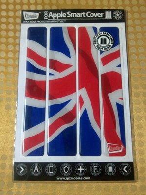 Gizmobies 英國國旗 Apple iPad 2 Smart Cover 保護套貼 Made In USA 全新 非 Iphone