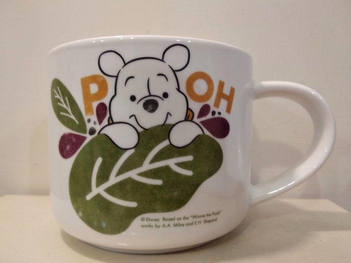 全新正版迪士尼 香草維尼 陶瓷馬克杯 Winnie the Pooh 陶瓷杯 咖啡杯 牛奶杯 400ml