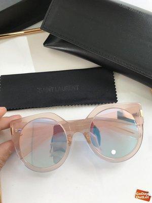 【GoDay+刷卡】YSL yves saint laurent 時尚飛行 夏日必備 太陽眼鏡 墨鏡顏色1  歐洲代購