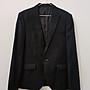 黑色西裝外套 男裝 單釦