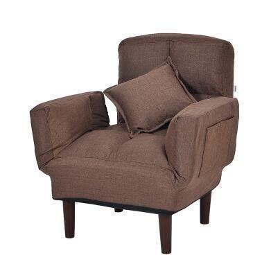 現代懶人沙髮床 小戶型客廳榻榻米可折疊小沙髮椅多功能拆洗兩用 YTL