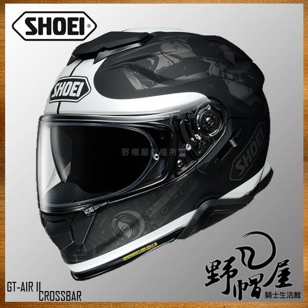 三重《野帽屋》SHOEI GT-Air II 全罩 安全帽 內襯可拆 內墨片 GTAIR2。REMINISCE TC-5