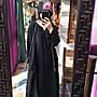 【子芸芳】水洗純亞麻大袍連衣裙 手工繡花寬鬆民族風復古連衣裙