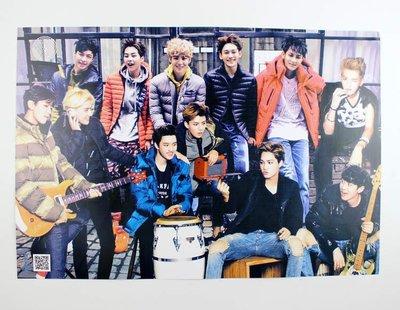 【預購】EXO組合 鹿晗 吳亦凡 燦烈海報 韓國港台明星 一套8張 42CM*29CM
