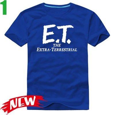 【E.T.外星人 E.T. The Extra-Terrestrial】短袖經典電影T恤 任選4件以上每件400元免運費
