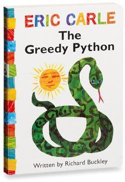 THE GREEDY PYTHON(貪食蛇) /硬頁書