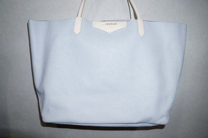 特價「NSS』 Givenchy ANTIGONA SHOPPING BAG TOTE 托特包 購物包 水藍
