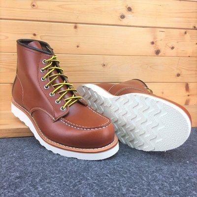 木村拓哉 (經典色) 進口油蠟 固特異縫製 純橡膠防滑 厚底靴 (RED WING 875版型) 工作靴 AG真皮製造