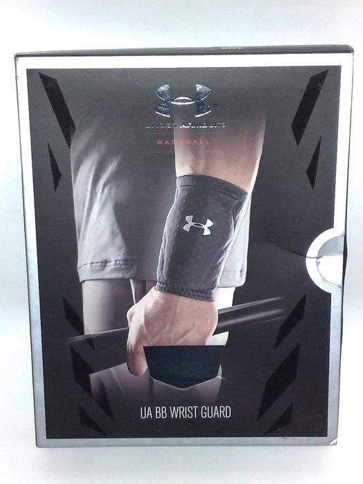 貳拾肆棒球-日本帶回UA Under Armour 職業用防衝擊護腕護具/