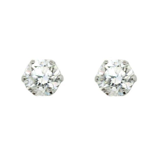 【JHT 金宏總珠寶/GIA鑽石專賣】0.514/0.508ct天然鑽石耳環/材質:PT900(JB41-D07)