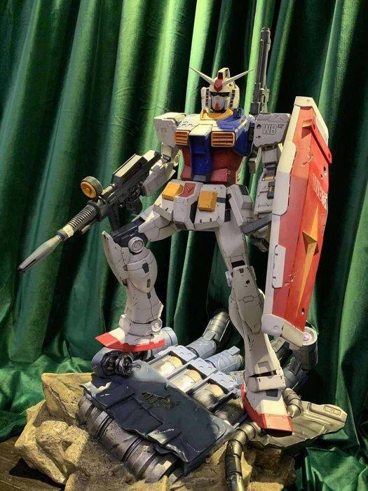 【預購】GK定制,敢達RX-78模型元祖雕像 rx78 元祖 1/35超大GK 雕像塗裝完成品現貨非FIX MB
