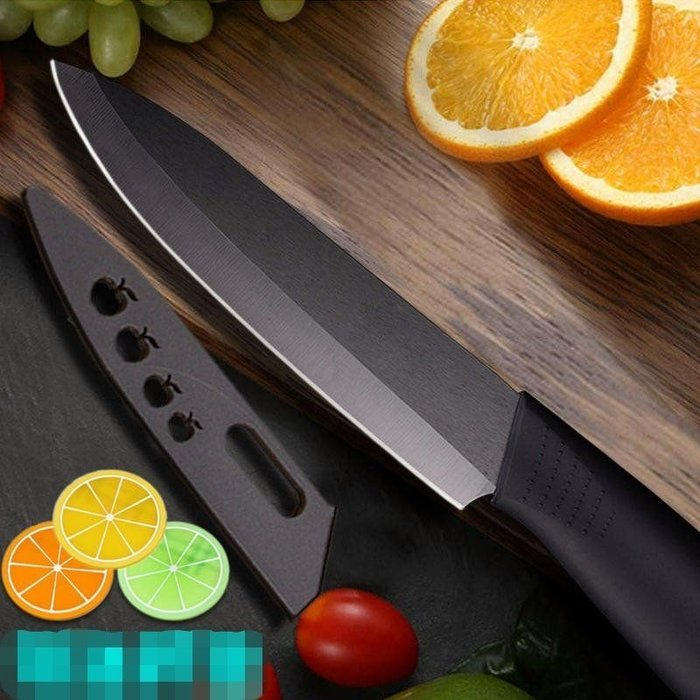 #萬粘大樓# 日本技術黑刃陶瓷刀 6吋(27CM)