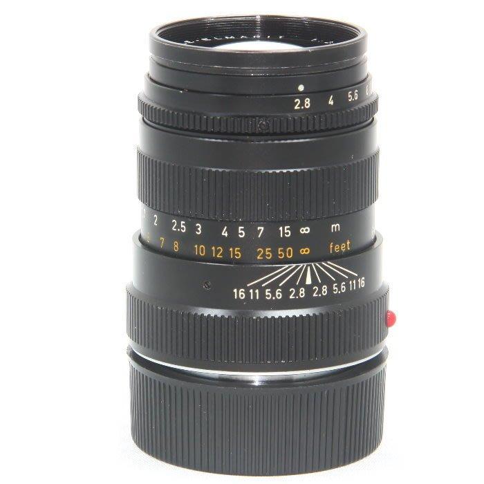 『永佳懷舊』LEICA 萊卡 90mm F2.8 TELE-ELMARIT-M加拿大 no.2659268  ~中古品~