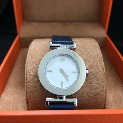 美國 Tory  burch  深藍色 二手 正品 九成五新手錶(只帶過2次二手商品難免有使用痕跡)附原廠錶盒。 因改帶apple watch 便宜賣出!