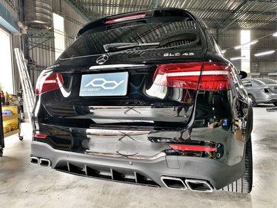 賓士 Benz GLC改GLC63後下擾流套件