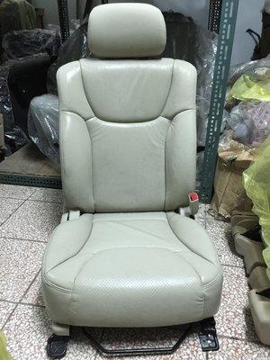@中華三菱MITSUBISHI@酷蘭德~GRUNDER~全新原廠右前座椅~米色皮椅