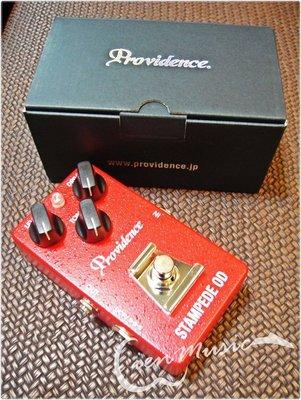『立恩樂器』Providence Stampede OD SOV-2 破音 單顆 效果器