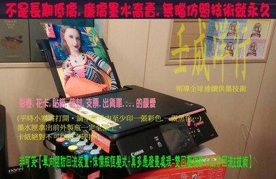 宓宓/ CANON TS5070 +頂級連續供墨 掃描 影印 WIF 無線 插卡/MX497 維護 騙子線不直 解廢墨