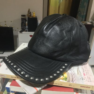 Bolongaro Trevor 全新 真皮 皮帽 棒球帽 鴨舌帽 帽子