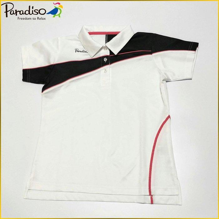 日本二手衣✈️PARADISO GOLF 日本製 POLO衫 吸濕排汗衫 高爾夫運動品牌 Paradiso 女裝 M号