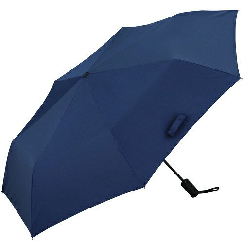 X射線【C500735】日本代購-UNNURELLA BIZ 滴水不沾晴雨自動傘-深藍,雨傘/雨具/晴雨兩用/陽傘/抗U