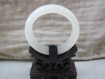 二手舖 NO.3047 天然玉石 瑪瑙玉髓玉鐲 手鐲 玉環 首飾飾品