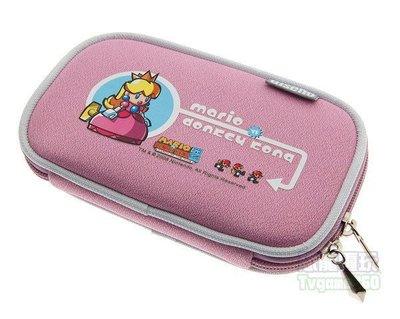 任天堂 Nintendo DSLite NDSL 瑪利歐 防衝擊收納包(粉紅公主包)【台中恐龍電玩】