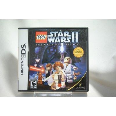 [耀西]二手 美版 任天堂 DS NDS 樂高版 星際大戰 2 LEGO STAR WARS II 含稅附發票