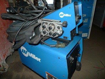 {中古焊接設備維修買賣出租} miller 米勒 456+74D送線小車~氬焊機~切割機~CO2焊接機~