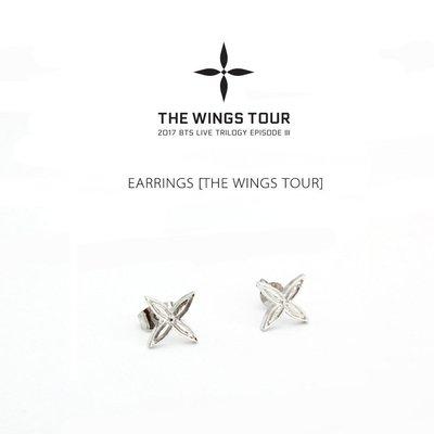 潮流耳飾 日韓 星美飾 BT新品S 防彈少年團 EARR新INGS [THE WINGS TOUR] 耳釘耳飾品NO90