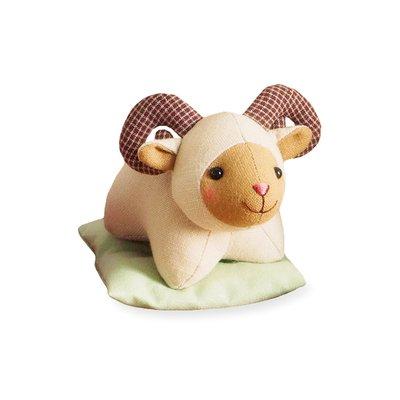 十二生肖布偶裝飾品 材料包 (日本製)-羊 ❤EZ樂活手作❤
