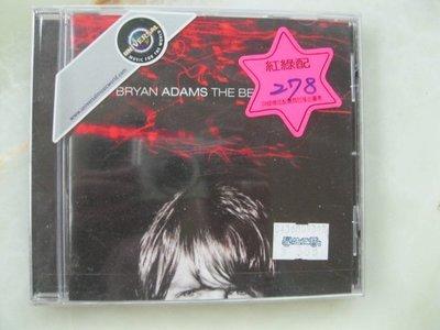 西洋CD~1999年 Bryan Adams 布萊恩亞當斯 - The Best Of Me 精選輯 全新未拆~原版唱片