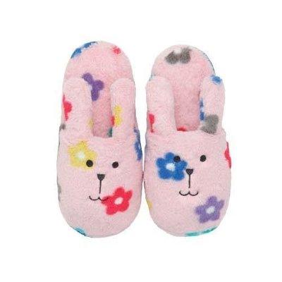 尼德斯Nydus~* 日本正版CRAFTHOLIC 宇宙人 保暖小物 拖鞋 室內拖 春季新款 RAB兔 小花款