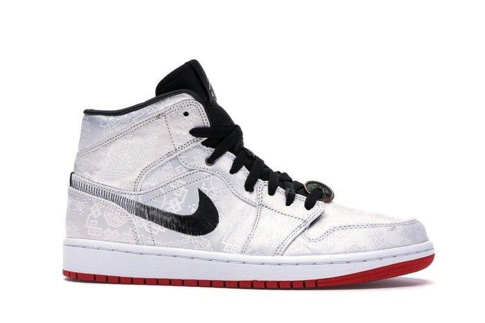 【紐約范特西】預購 AIR Jordan 1 Mid SE Fearless 陳冠希 CLOT CU2804-100