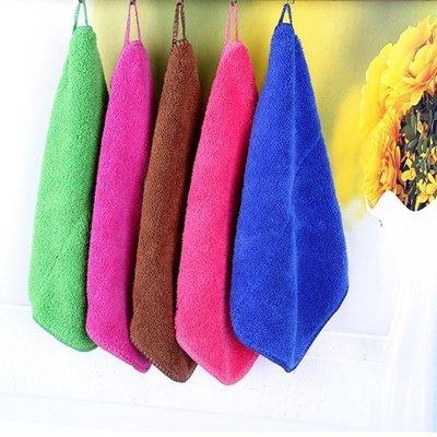 [愛雜貨] 不挑色 掛環抹布 吸水抹布 清潔 洗碗 拖把布 不沾油 加厚 大掃除 過年 清掃