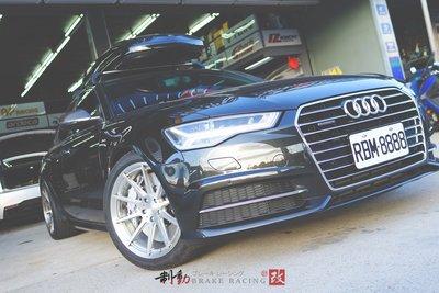 Audi A6 Avant 專用 AP CP-9560 六活塞原裝AP盤390mm 後加大碟搭配 制動升級 / 制動改