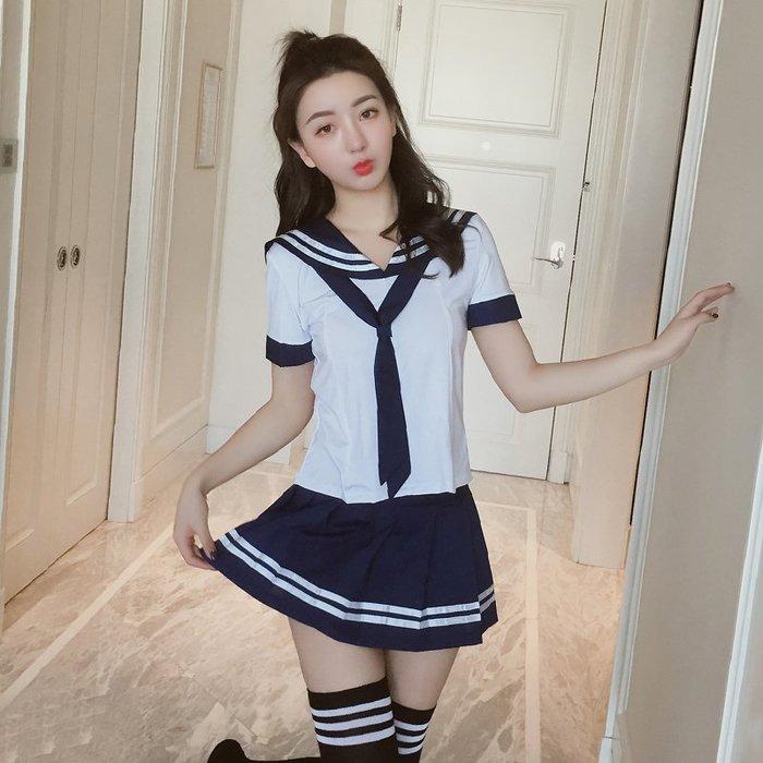 學生制服誘惑性感水手服套裝女情趣內衣女仆清純夜店可愛主播套裝